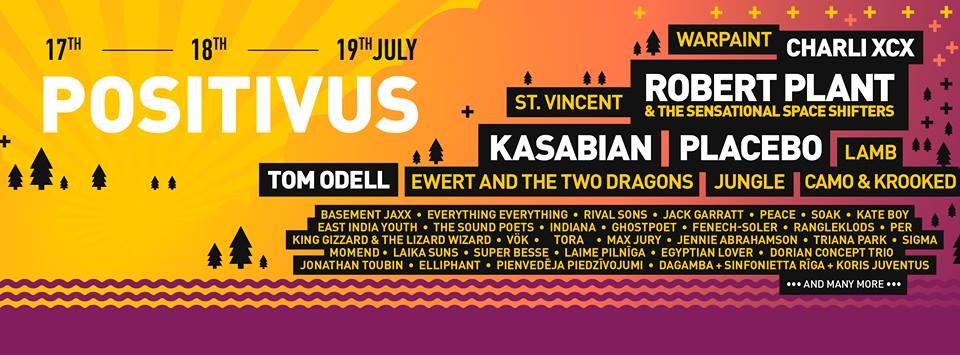 positivus lineup poster
